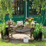 Tuinen in Broekhuizen Theetuin de Roode Vennen en Opentuinendag Amsterdam